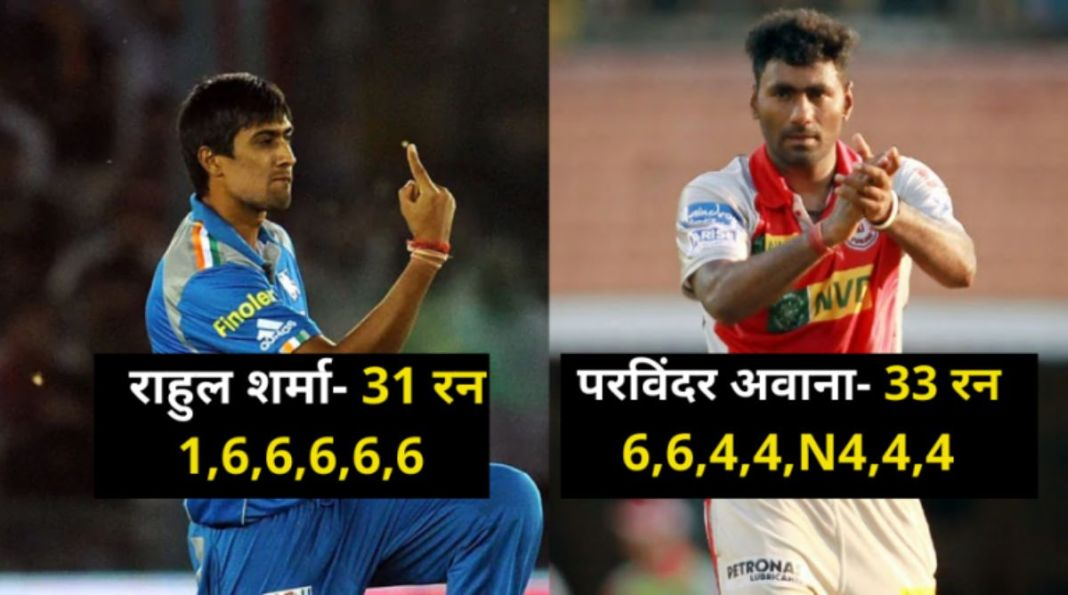 Expensive Overs in IPL